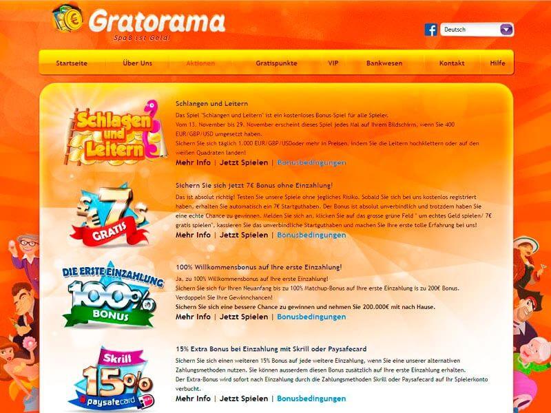 Auszahlungsquote Spielautomaten Gratorama 835422