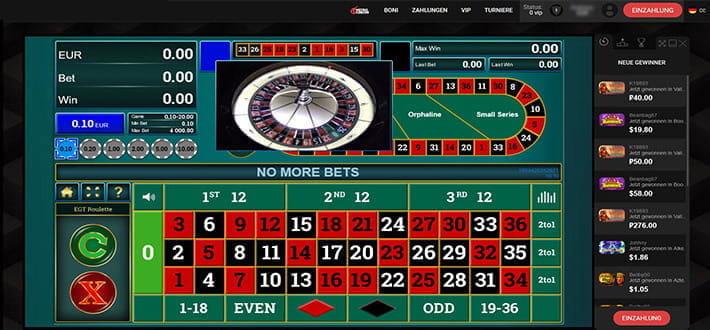 Live Casino 84322
