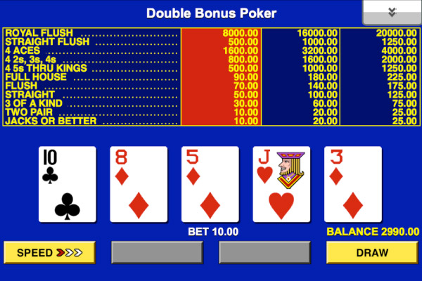 Bonus Poker Gunsbet 59451