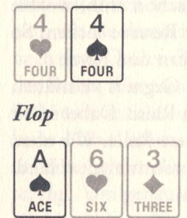 Bedingte Wahrscheinlichkeit Poker 339834