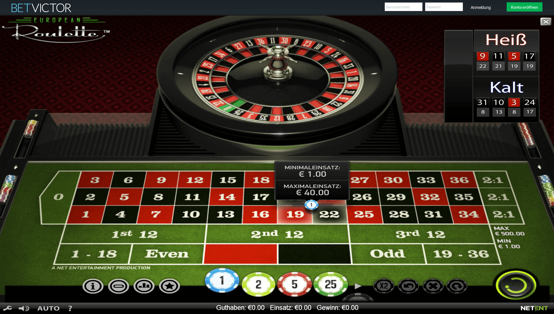 Roulette System 92715