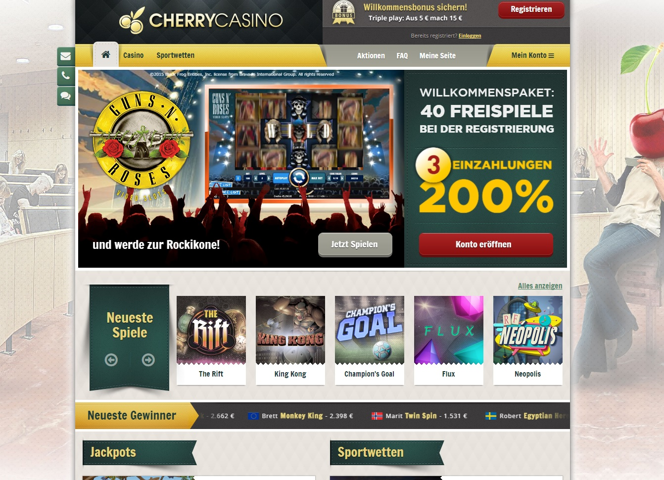 Casino Bonus Code 561427