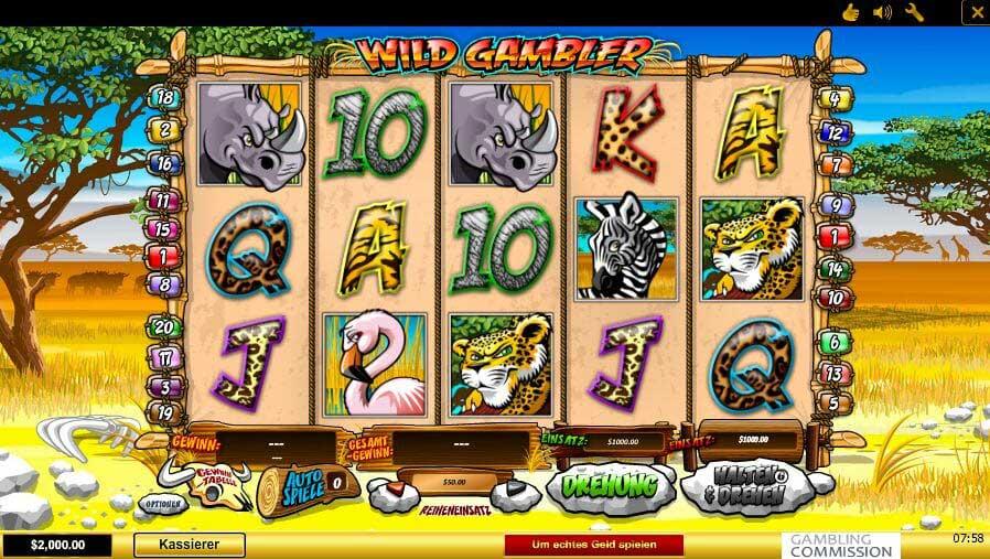 Mehrmals spielen Wild 248273
