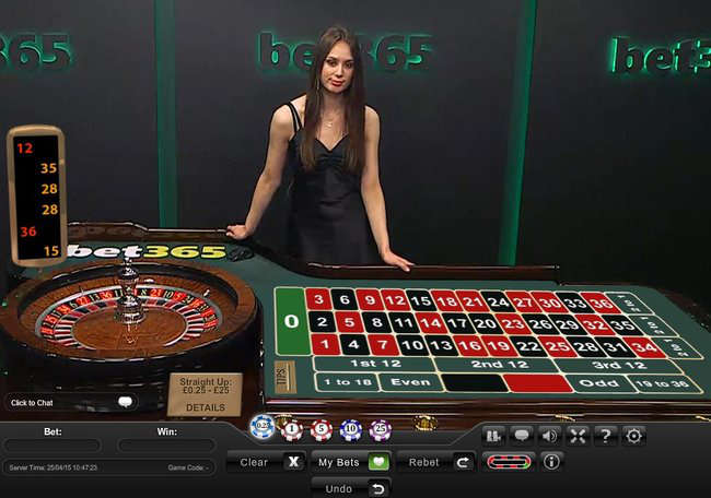 Live Roulette in 137901