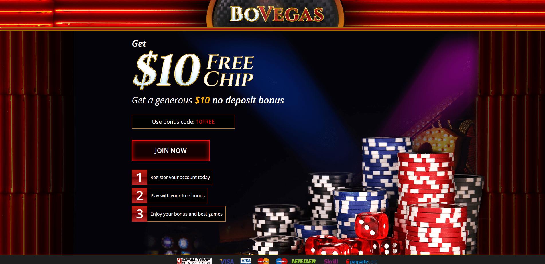 Bonus Code Casino 58540