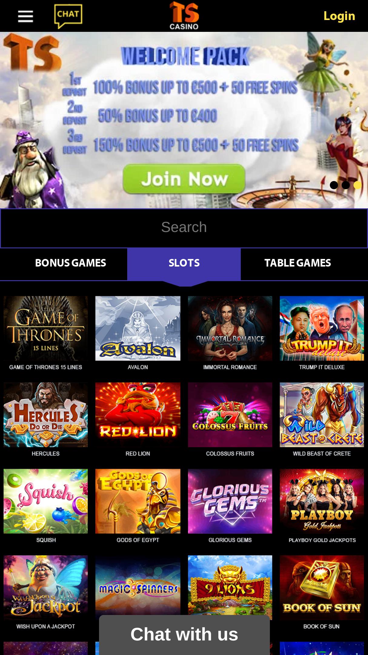 Casino Bonus Code 325064