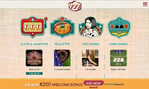Casino Welcome 872689