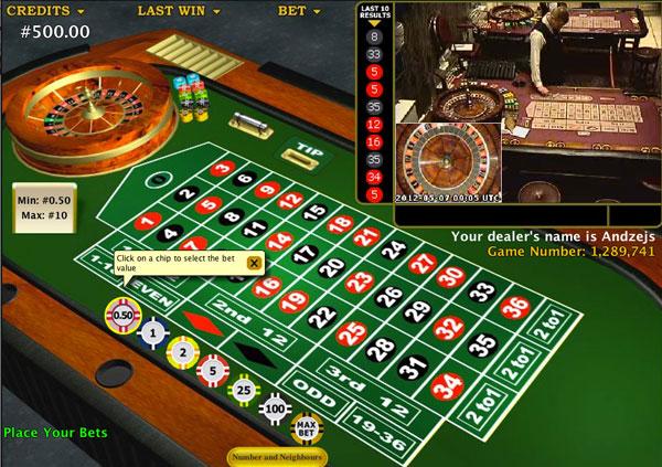 Live Casino 955481