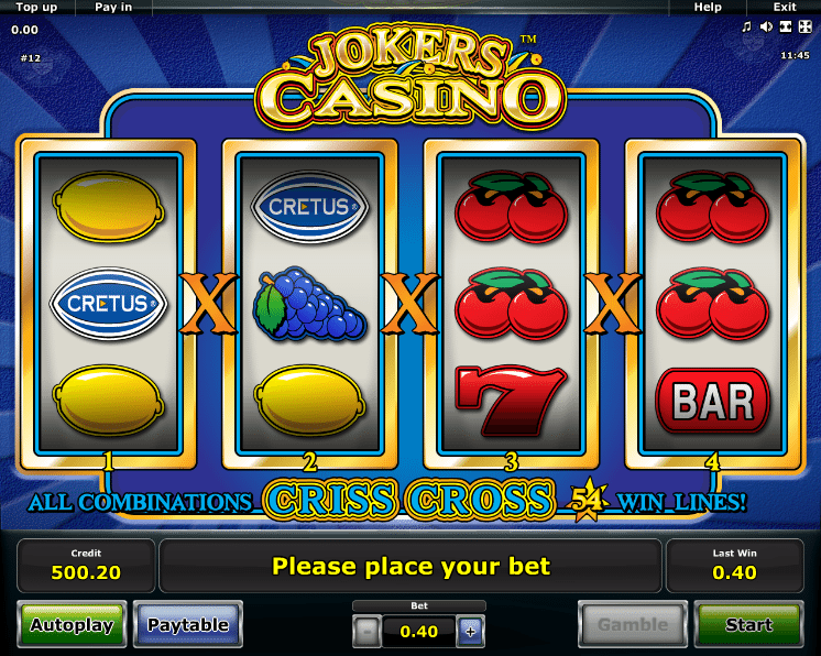 Alte Spielautomaten Bonus 149084