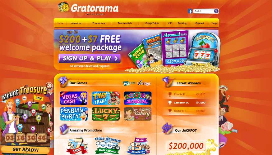 Support Casinopiele Gratorama 525711