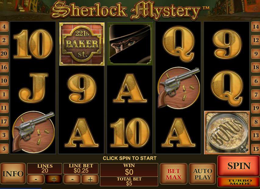 Review slots Sherlock 95556
