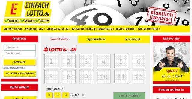 Lotto Glück 196854