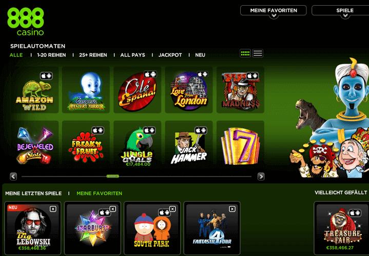 Auszahlungsquote Spielautomaten 888 562781