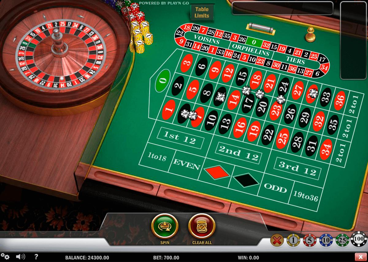 Roulette Orphelins Endlose 549298