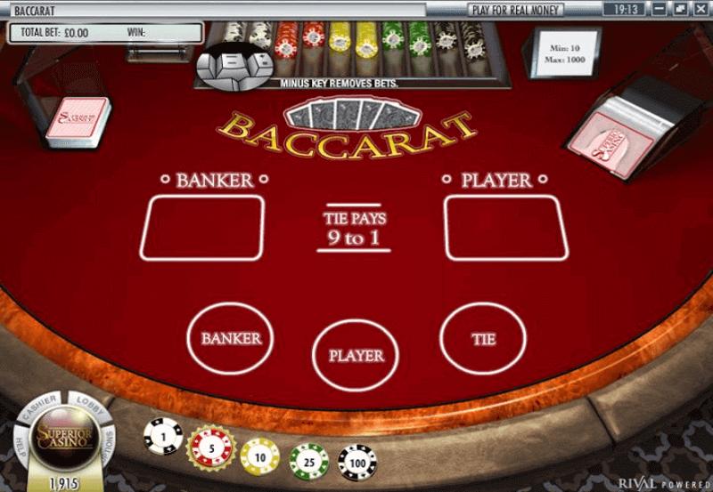 Baccara Kartenspiel Everest 268425