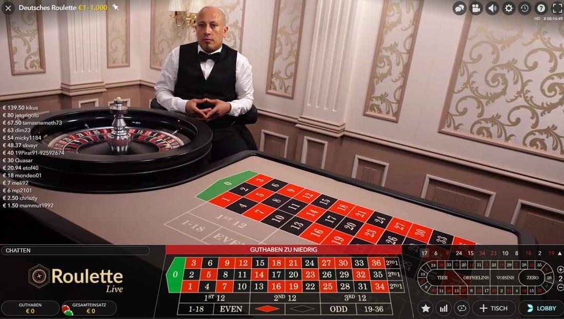 Belgien Live Casino 792043