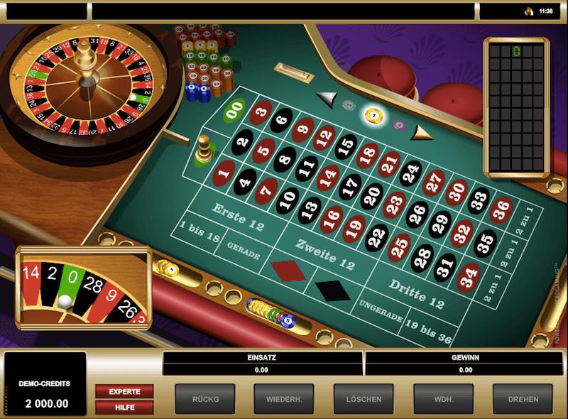 American Roulette spielen 244349