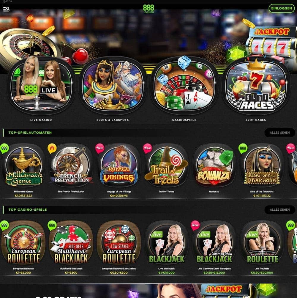 Auszahlungsquote Spielautomaten 888 865550
