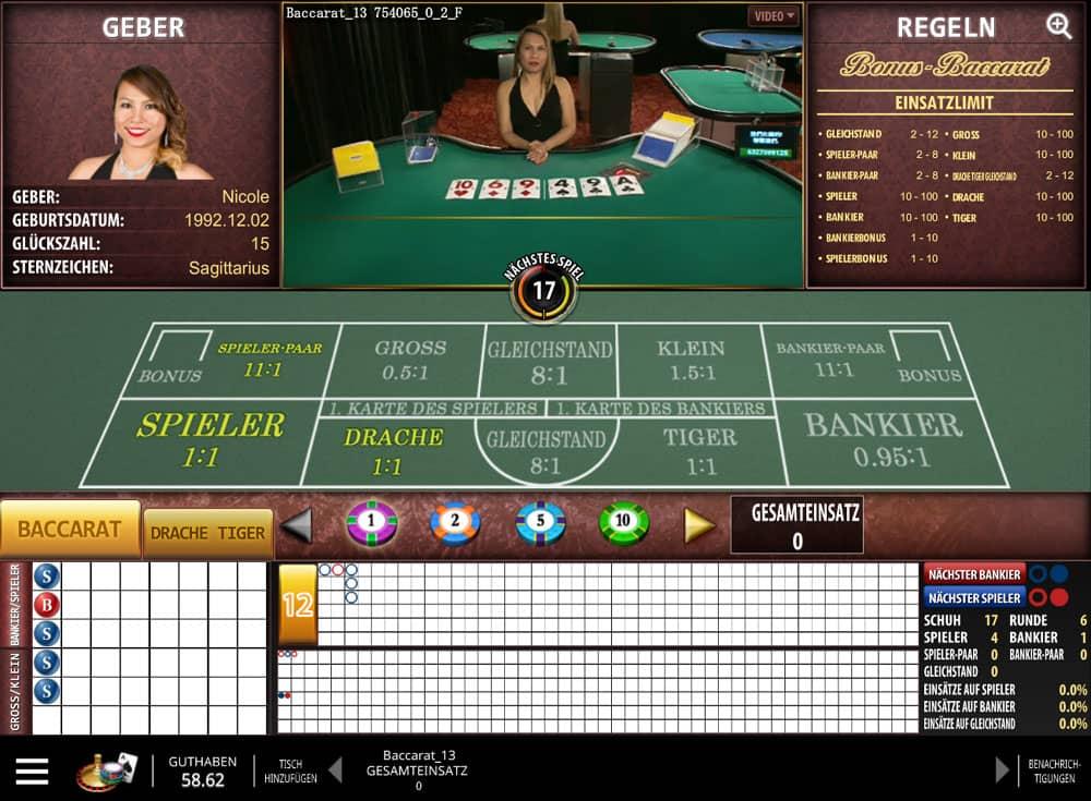 Baccarat online Casino 638248