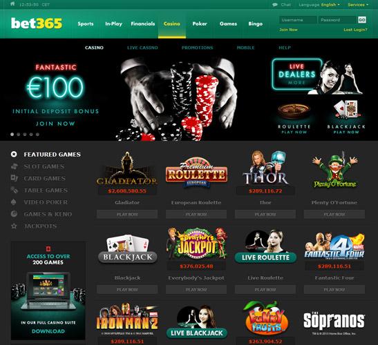 Bet 365 Casino 478302