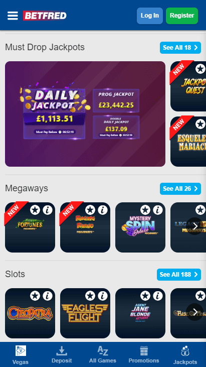 Betfred Playtech 823795