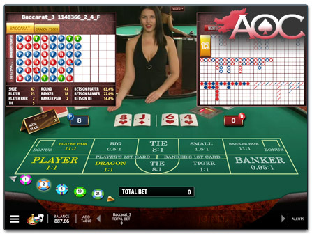 Casino Club Baccarat 48356
