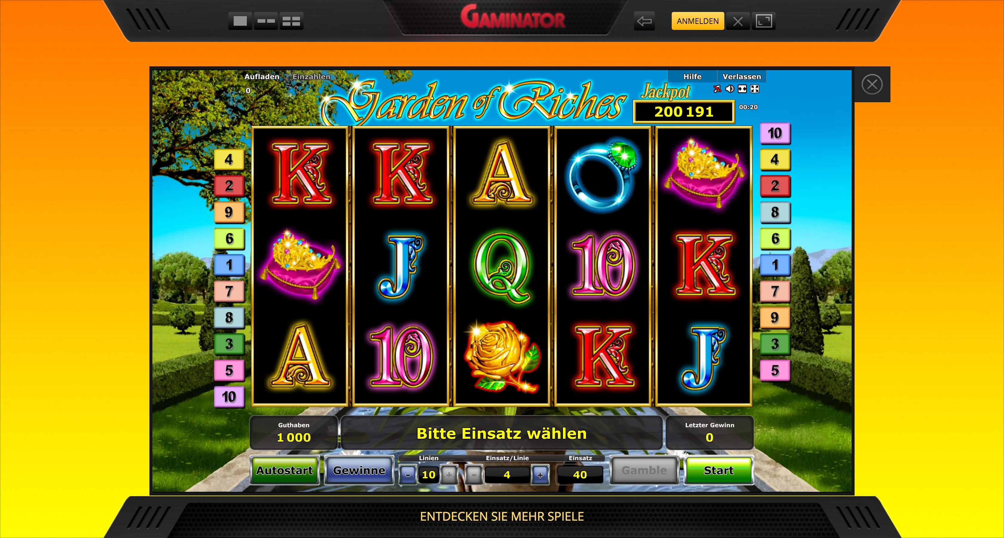 Casino Handy Bonus 96185