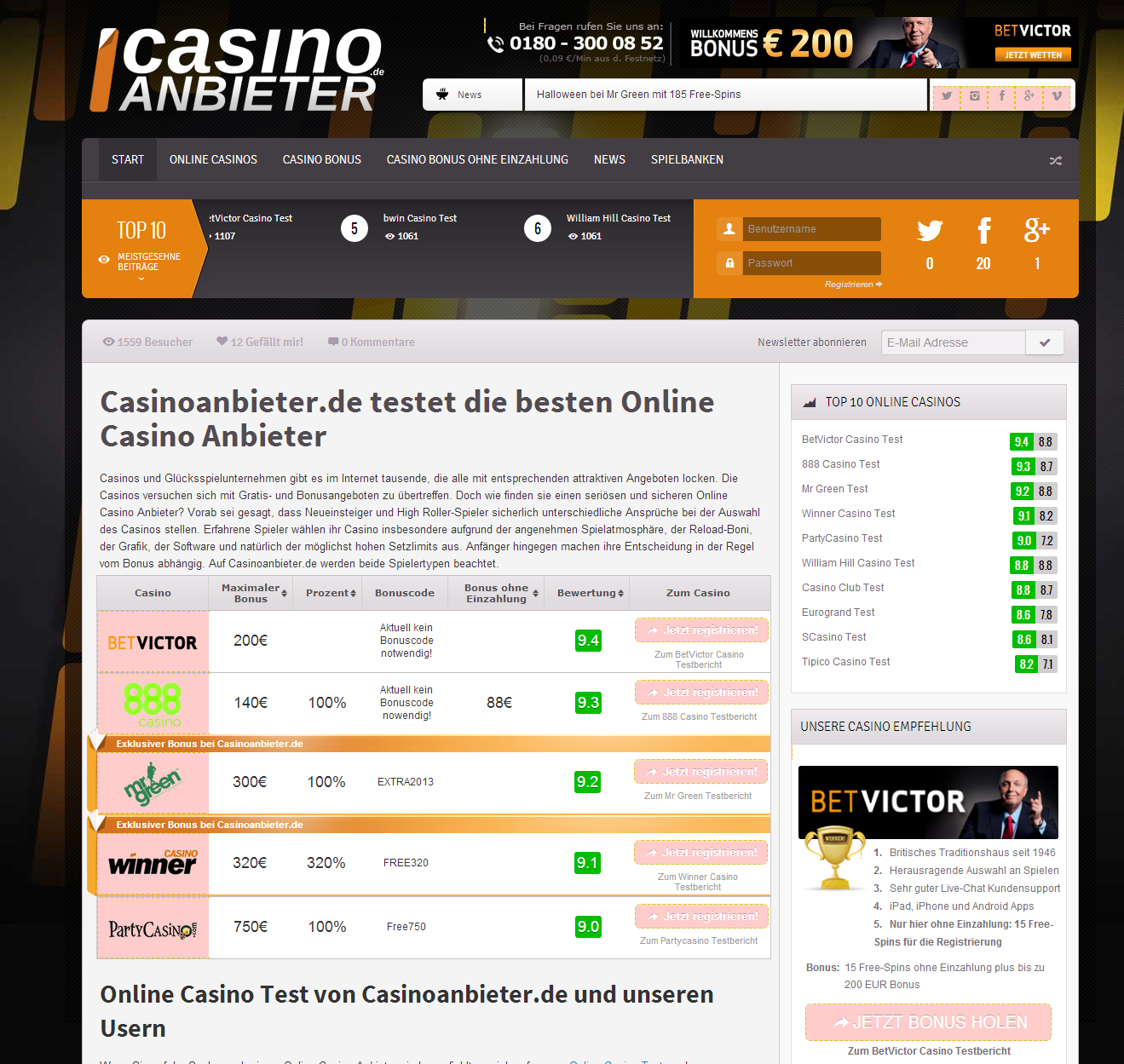 Casino Promo Code 430459