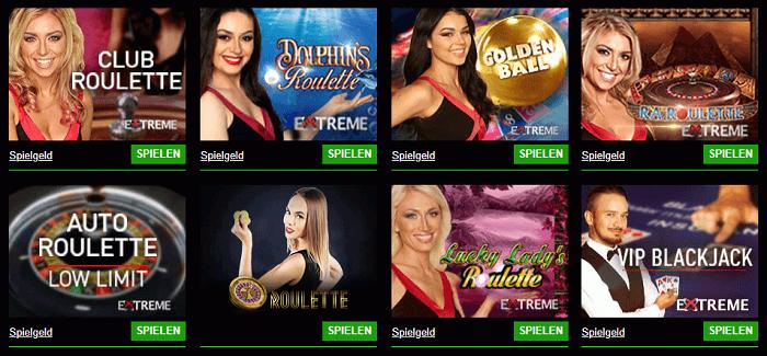Live Casino online 74038