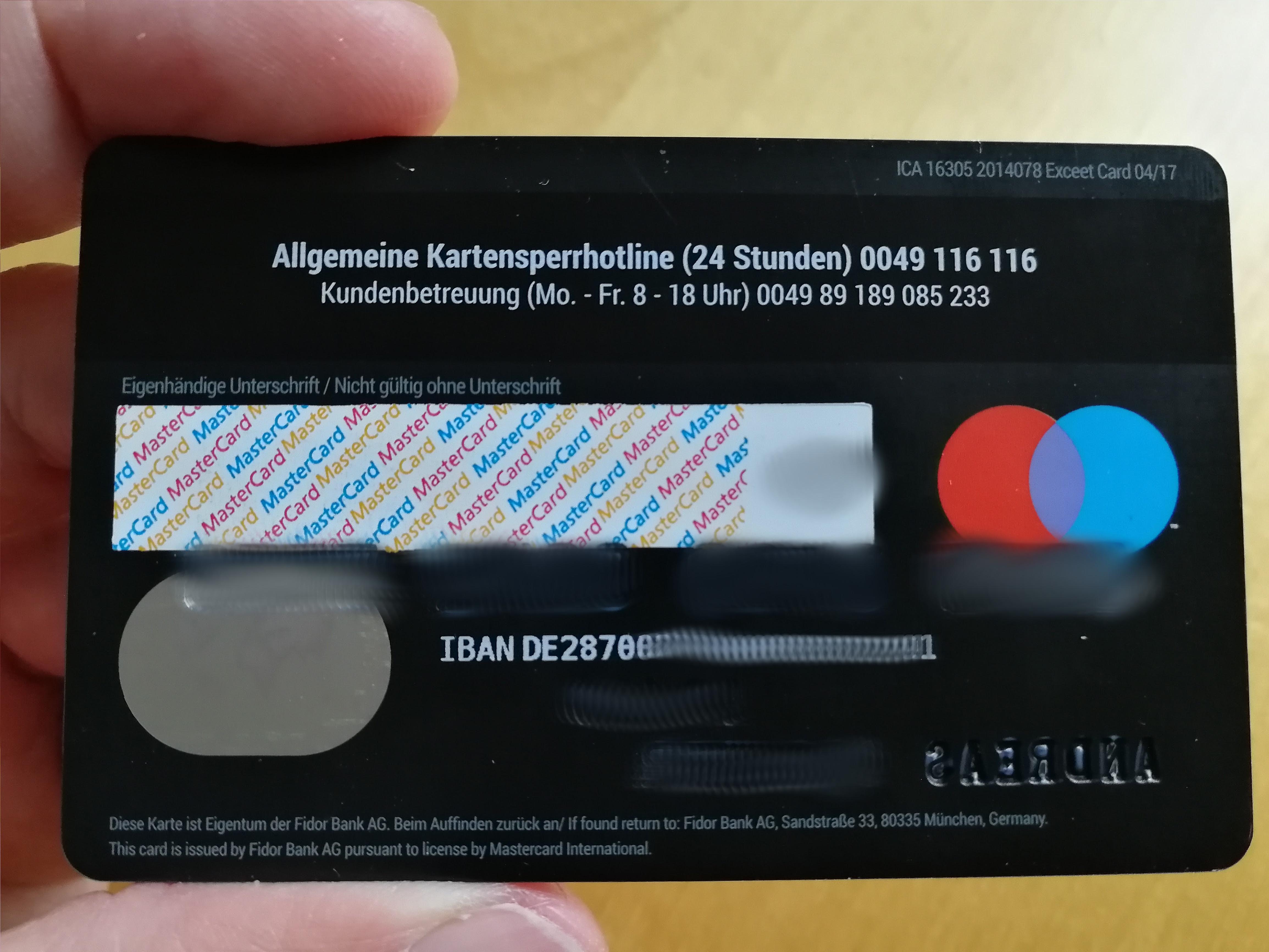 Fidor Bank 236685