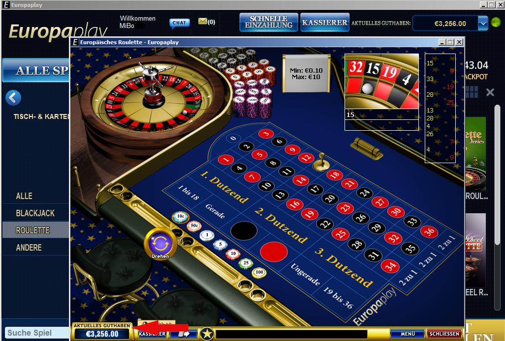 Gewinn im Jackpot 204373