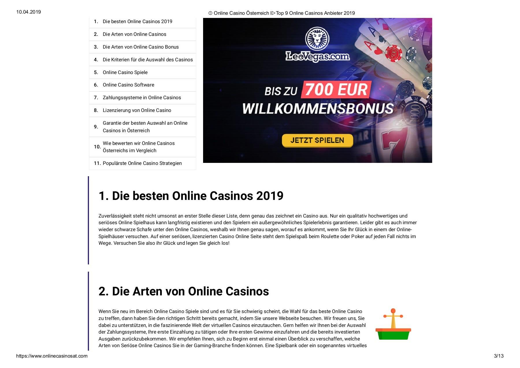 Online Casinos mit 332676