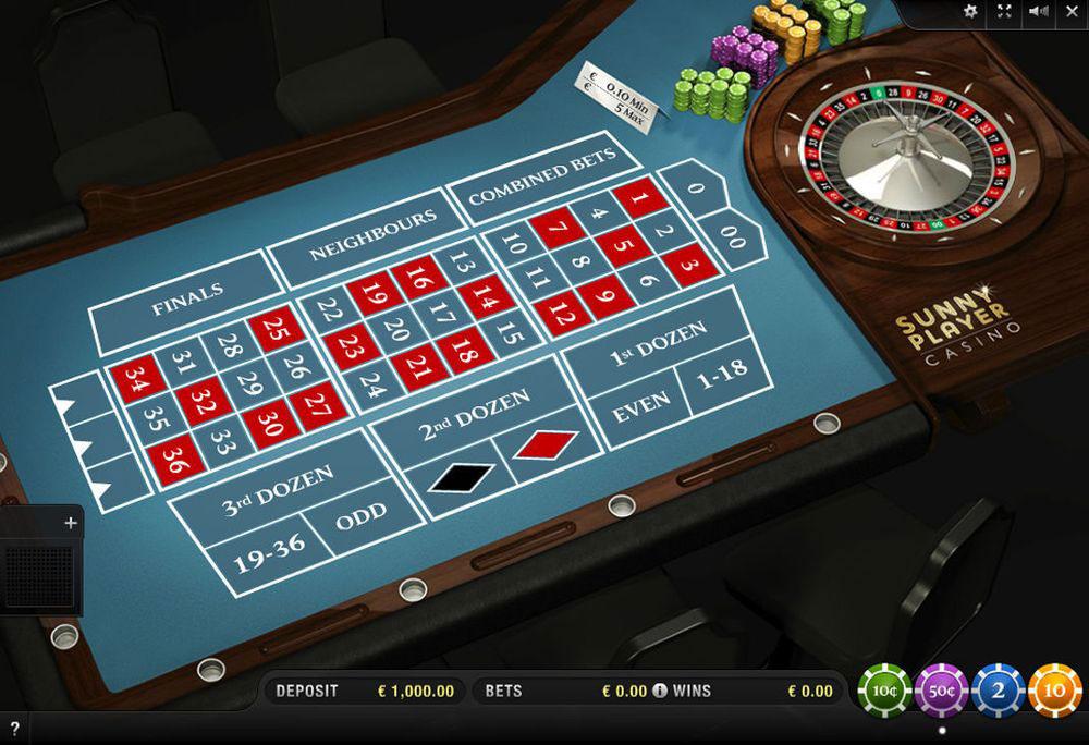 Roulette Auszahlungsquoten 500679
