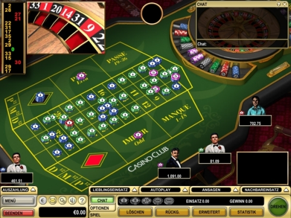 Roulette Rot 648988