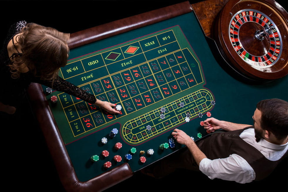 Roulette Rot Schwarz 412429