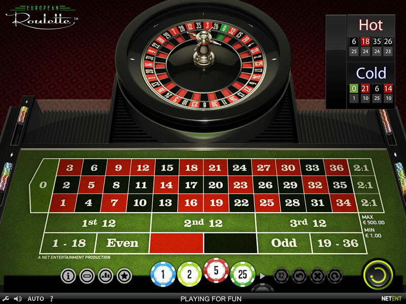 Roulette Systeme 810715