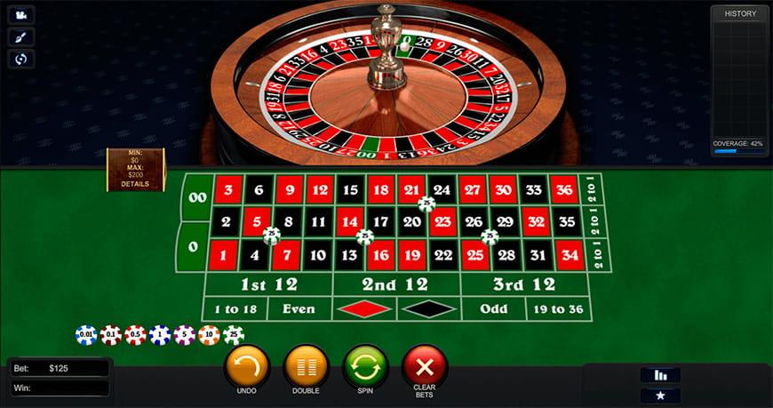 Roulette Tisch 446130