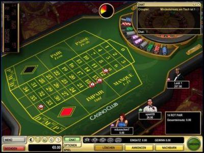 Roulette Tisch 700542
