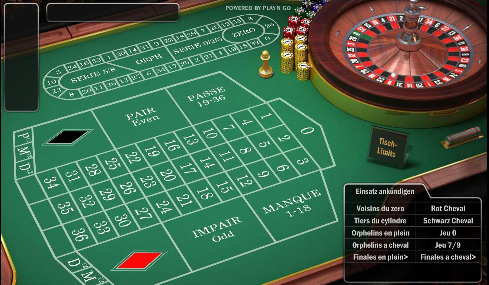 Roulette Zero Spiel 138486