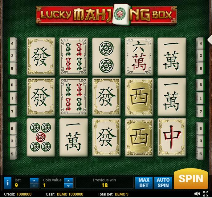 Spiel Mahjong online 92250