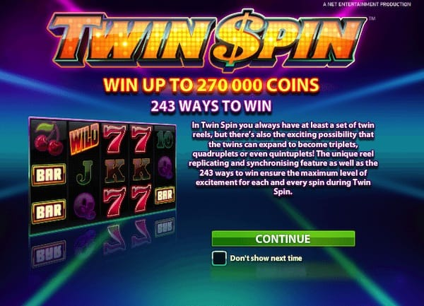 Twin Spin online 749080