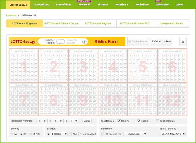 Welche Lotterie Hat 575784